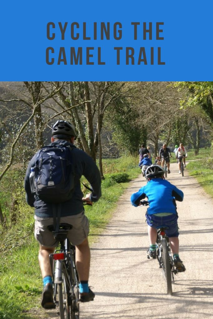 Cycling the Camel Trail between Bodmin and Padstow in Cornwall.