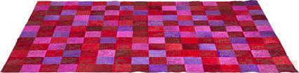 Alfombra Patchwork Ornament rosa 170x240cm