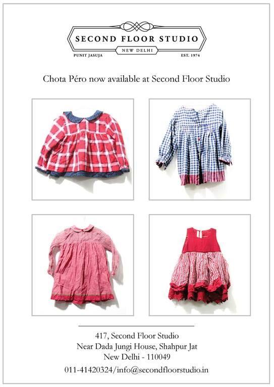 Chota Péro now available at Second Floor Studio, Shahpur Jat!
