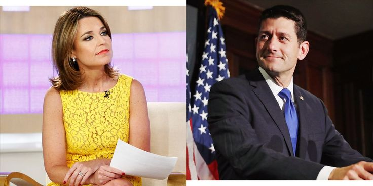 Savannah Guthrie Wants to Know: Is Paul Ryan Living in a Fantasy World?