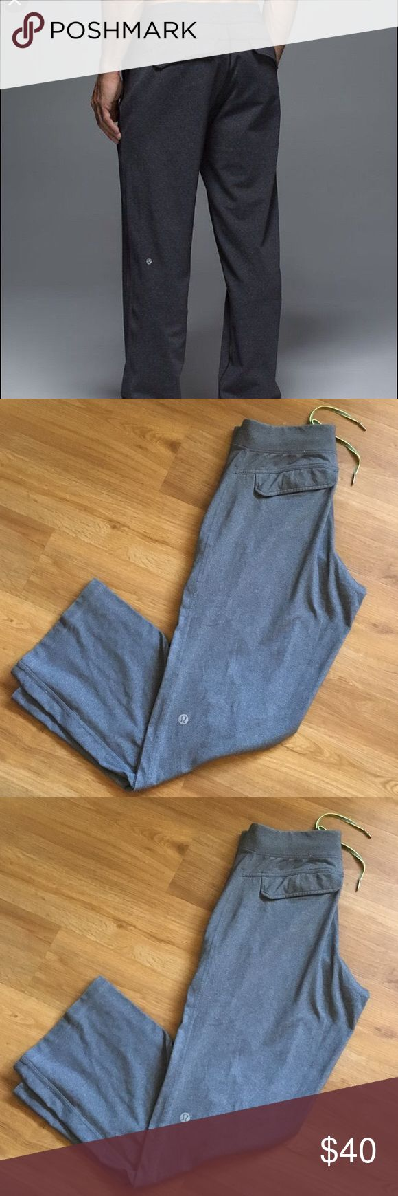 Lululemon men's Kung fu Pants gray size m Lululemon men's Kung fu pants size m lululemon athletica Pants