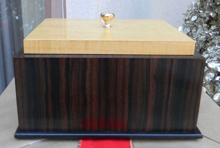 Minimalist Modern Decorative Box by JorgensenFurniture on Etsy