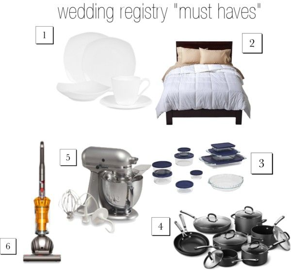 Wedding Registry: Wedding Registry Must Haves.