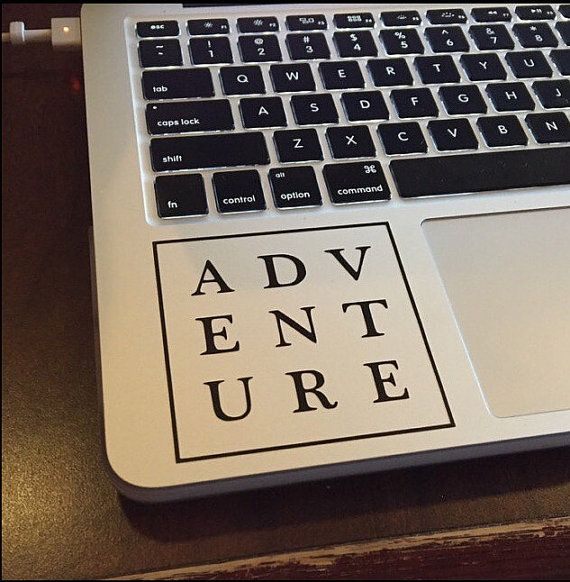 Adventure Vinyl Decal Sticker laptop stickers by KareAndDesign