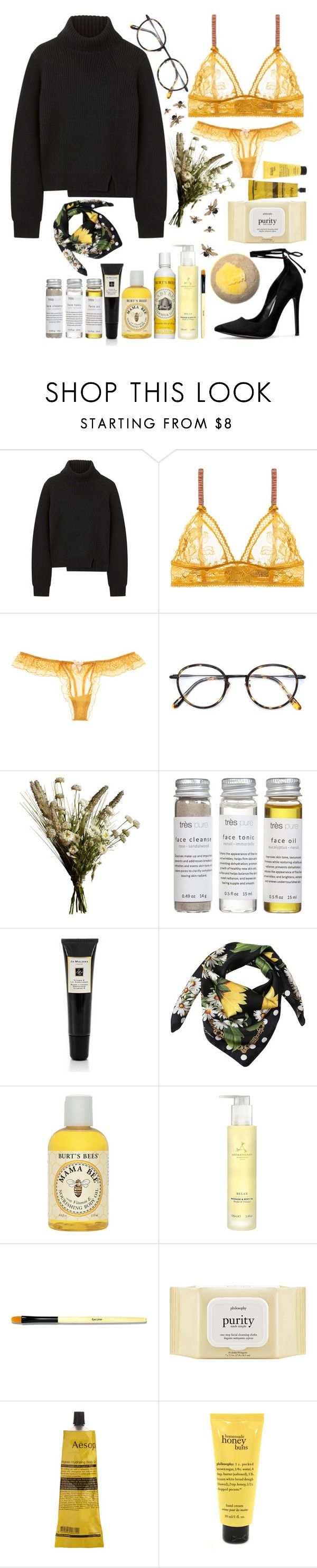 """""""∵m y   c a k e∴"""" by lilsavageboo ❤ liked on Polyvore featuring Proenza Schouler, STELLA McCARTNEY, Eberjey, Frency & Mercury, Abigail Ahern, Très Pure, Jo Malone, Dolce&Gabbana, Burt's Bees and Aromatherapy Associates"""