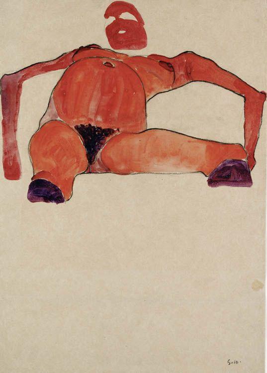 Egon Schiele, Pregnant woman