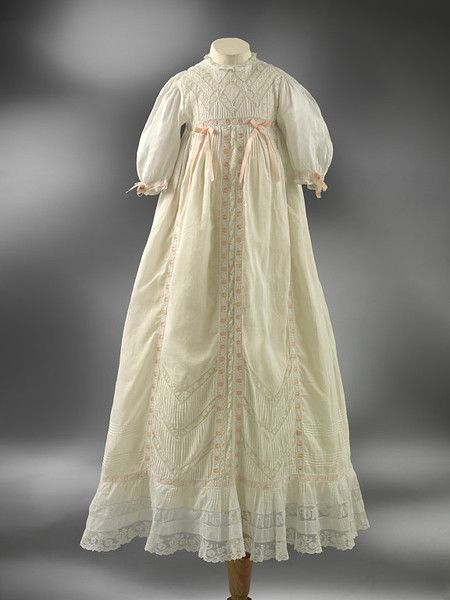 Christening Gown, circa 1900-20