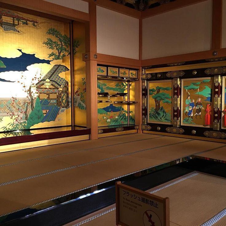 """熊本城本丸御殿の昭君之間 """"Shokun No Ma (The room of Wang Zhaojun)""""  the Honmaru palace of Kumamoto Castle. #熊本城 #kumamotocastle #昭君之間 #shokunnoma #熊本市 #熊本 #kumamoto by jun_nishigaki"""