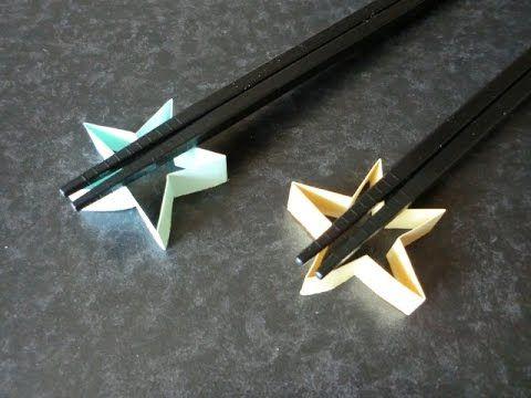 合コンやイベントに♡折り紙&箸袋でできる可愛い箸置き - Locari(ロカリ)