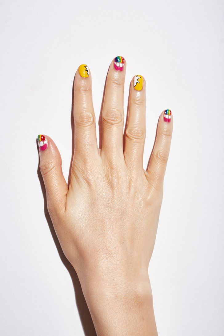 Pin for Later: The Hottest New Tech and Geeky Nail Art You\'ll Want ...