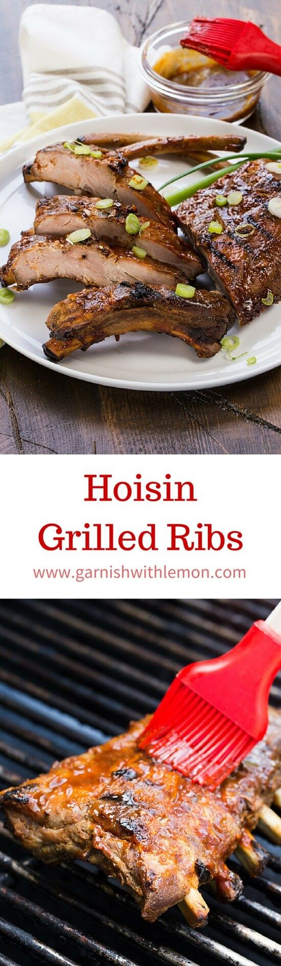 tasty ribs just got easier! These Asian-flavored Hoisin Grilled Ribs ...