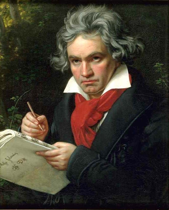 BEETHOVEN   Ludwig van Beethoven est un musicien et compositeur allemand du XIXe ...