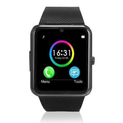 New Cool Clock Sync Notifier Support Smart Watch Sim Card Bluetooth Wrist Smartwatch compatible with Apple Iphone for Android ph #electronics #arduino #technology #smartrobot #smart