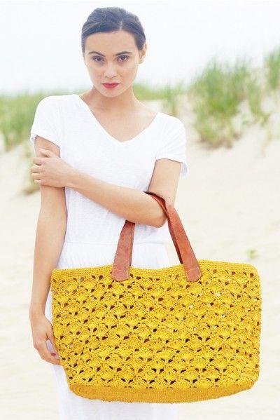Mar Y Sol 2014 'Valencia Crochet Tote' Handbag | The Orchid Boutique