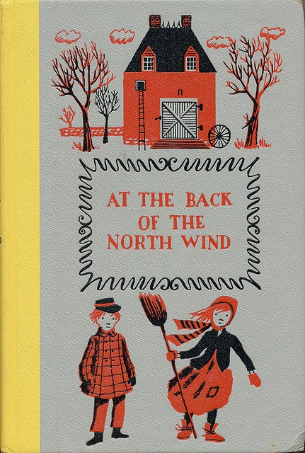 At The Back of the North Wind.  Written by George MacDonald.  Illustrated Colleen Browning.  Junior Deluxe Editions, 1956.