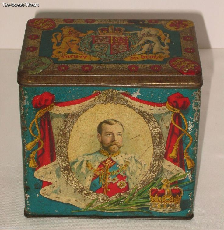 King George V & Queen Mary Coronation Tin, June 1911 | eBay
