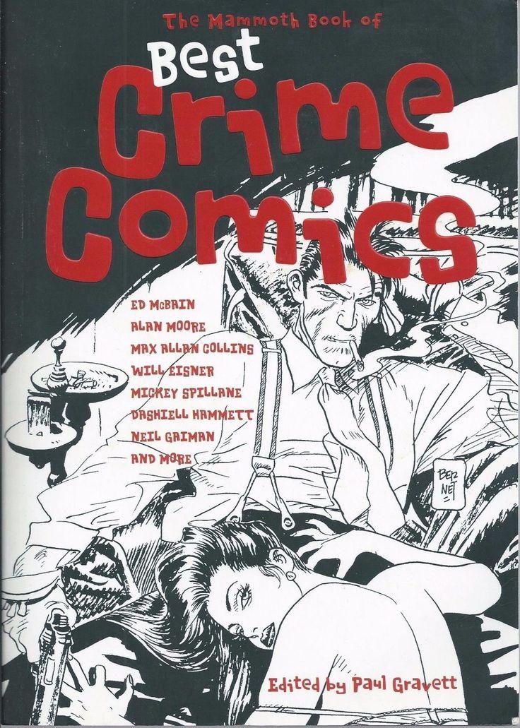 MAMMOTH BOOK OF BEST CRIME COMICS TPB GRAPHIC NOVEL(2008 RUNNING PRESS)FN