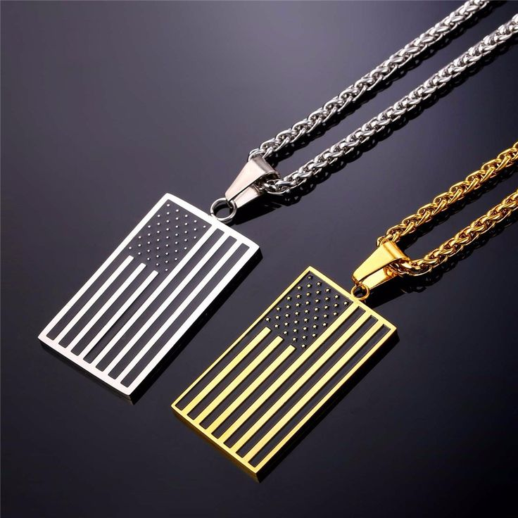 Necklace & Pendant Gold Plated Stainless Steel USA American Flag Necklace 💰$10.99   Order here 🛒 ➤https://goo.gl/kqq65z  Shop Here 🛒 ➤https://www.my-shoplab.com    #fashion #instagram #instadaily #bestoftheday #summer #shopping #accessories #mens #necklace #bracelete #ring #jewelry #silver #gold