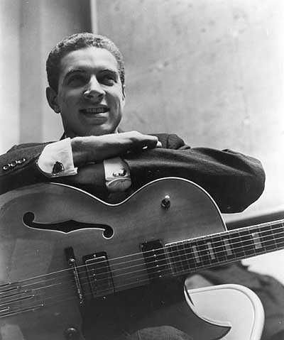 Kenny Burrell. One of my all time favs. Jimi's favorite player. Would love to have been around in the 50s when he was doing all his session work in NYC. Kenny's still playing. Gotta see him in LA, though.