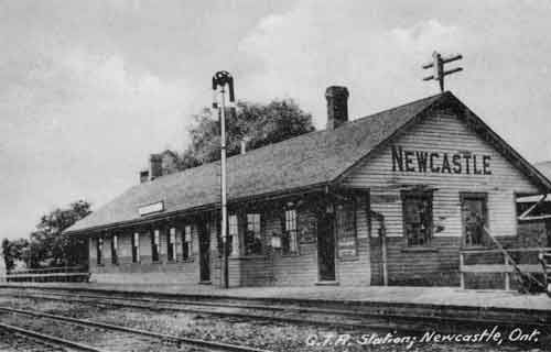 Railway stations in Newcastle, Ontario