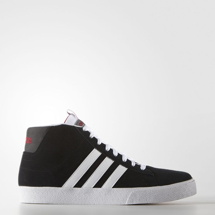 adidas - Daily Street Mid Shoes Suede upper Synthetic leather 3-Stripes Nylon heel patch Vulcanized rubber outsole Imported
