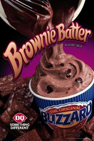 Dairy Queen Restaurant Copycat Recipes: Brownie Batter Blizzard