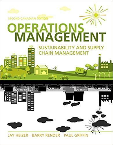 Solution Manual Operations Management Sustainability And