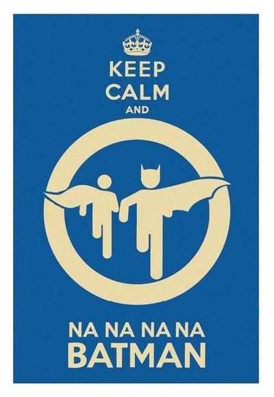 Na na na na... Batman