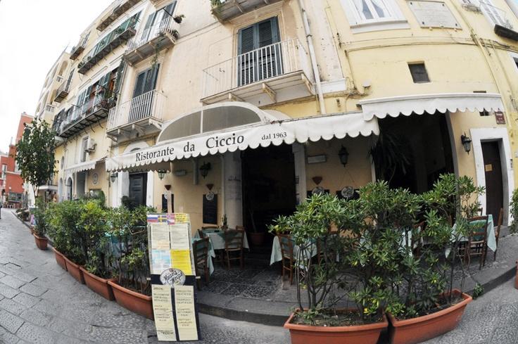 Ischia : Restaurant da Ciccio's (luxirare)