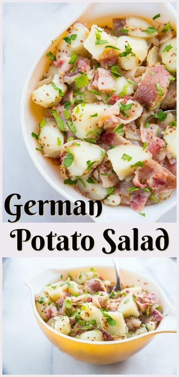 Classic German Potato Salad The Kitchen Magpie German Potato Salad Recipe Potatoe Salad Recipe German Potato Salad