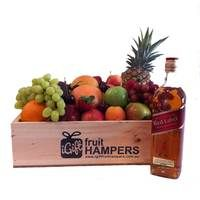 Johnnie Walker Red Label Scotch Whisky Gift  www.igiftfruithampers.com.au  #fruithampers #fruitgifts #giftsformen #luxurygifts #mangifts #freeshipping #hampers #gifthampers #giftsaustralia