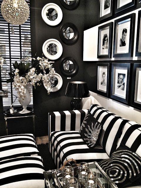 Best 25+ Black white decor ideas on Pinterest Modern decor - black and white living rooms