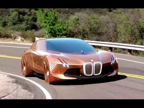 BMW NEXT 100 vision trailer - electric autonomous technology advanced - YouTube