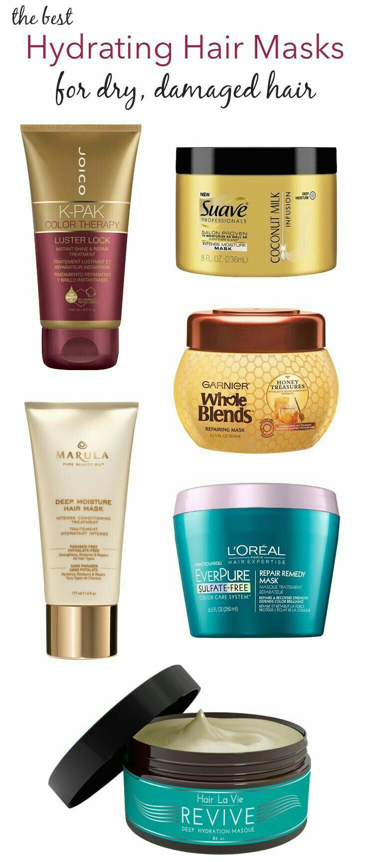Pin by Patty Awai on Drugstore hair products Hair mask
