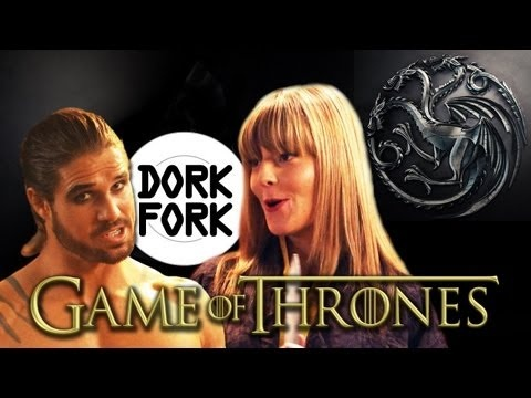 GRACE HELBIG, MATT MIRA & JOHN HENNIGAN roast GAME OF THRONES - Dork Fork