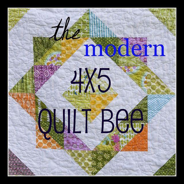 half square triangles4X5 Modern, Quilt Ideas, Quilt Block, Block Pattern, Bees Badges, Quilt Bees, Quilt Tutorials, Modern Quilt, Quilt Pattern