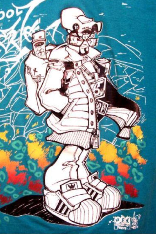 B-Boy Character | Hex TGO (Graffiti Artist) | Pinterest
