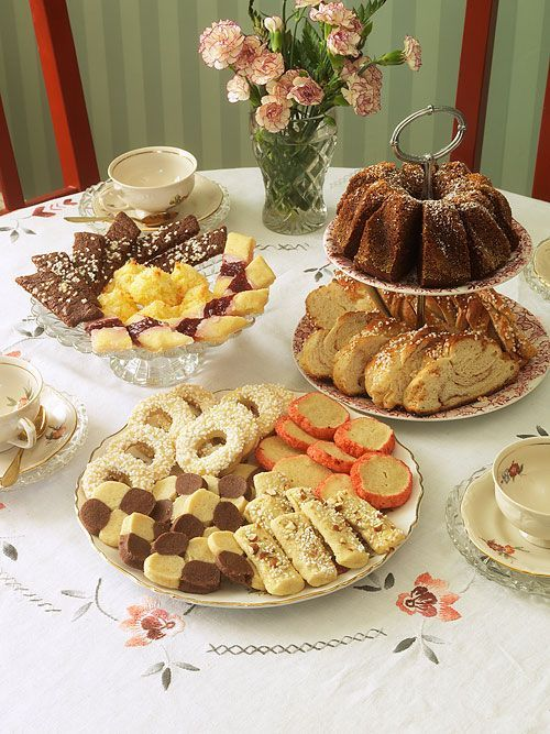 Nordic Thoughts: Swedish Kafferep Kafferep (literally 'coffee rope') social meeting with coffee -  traditionally with 7 types of cookies. It was common to have a kafferep in the mid 1800s, it might be at a wedding, baptism or at a funeral -  or it was just a get-together of women