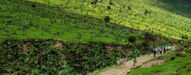 Viaggio in #Etiopia: #Trekking Etiopia Tour | Arché Travel