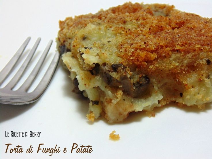 Torta+di+Funghi+e+Patate+Gratinata+-+Vegan