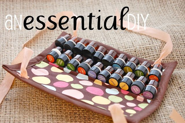Too bad i cant sew!! That's So Cuegly: Essential Oil Travel Case (that fits in your purse or car or pocket or suitcase or briefcase or gym bag, or backpack, or carry-on...