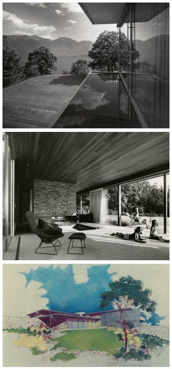 RICHARD NEUTRA IN EUROPA – Bauten und Projekte 1960–1970