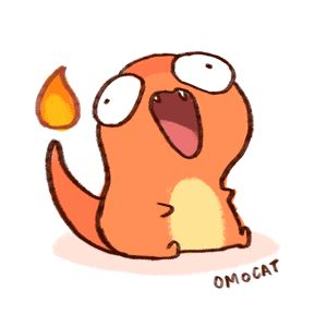 Wiggly and Overly Enthusiastic Charmander makes me happy