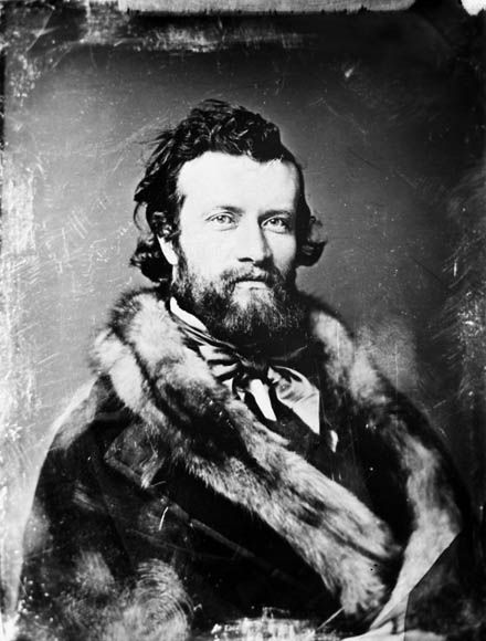Sir Sandford Fleming. This Scottish-Canadian  was an inventor of timezones, explorer, engineer, and wearer of fabulous furs.   For more proof, check out this studly Canadian Heritage Moment.    Submitted by JSFMacL3