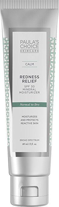 Paula's Choice CALM Redness Relief SPF 30 Mineral Moisturizer for Normal to Dry Skin (Именно для нормальной/сухой, т.к. её я использую для кожи вокруг глаз. Для этой области мне подходят именно физические (минеральные) защиты)