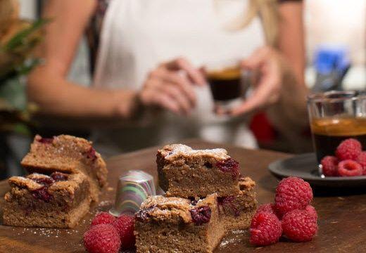Simmone Logue's Cioccorosso Chocolate Raspberry Brownie
