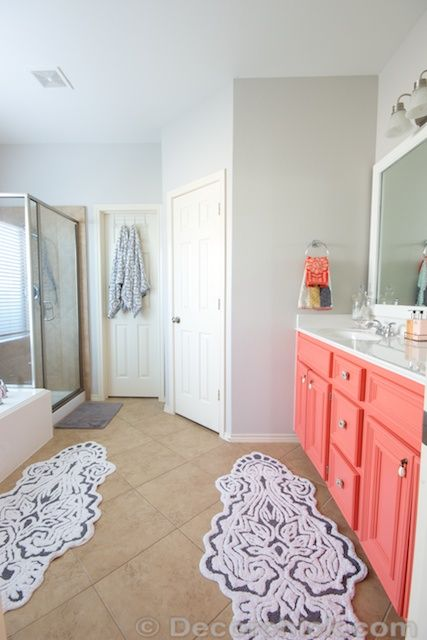 1000 ideas about coral furniture on pinterest coral for Coral reef bathroom decor