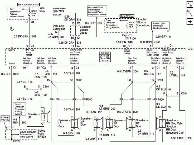 2003 Silverado Radio Wiring In 2020
