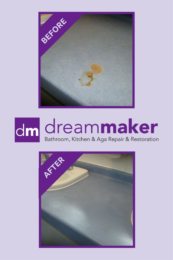 We can repair and restore your kitchen and bathroom worktop. Badly damaged worktops can be invisibly repaired using our top quality, professional materials. Marble, Formica and many other surfaces can be restored and colour matched to their former glory. Contact us now: http://dreammakerbathrooms.co.uk/kitchen/worktop-repair-resurface/