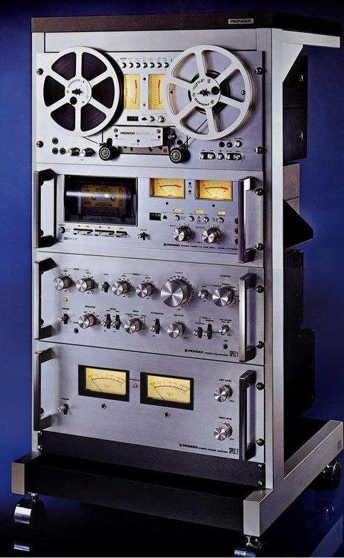 Pioneer...reel-to-reel tape, cassette tape, radio receiver ...how much it took to listen to quality sound!